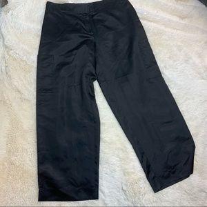Eileen fisher wide leg silk organza pants L NWTS